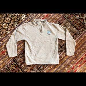 Tops - UNC Gray 1/4 Zip Pull-over Size Medium